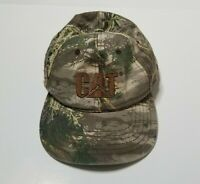 CAT Snapback Camo Hat Cap Caterpillar Adult One Size Camouflage
