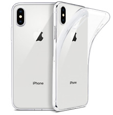 iPhone ALLE MODELLE Crystal Softcase Ultra thin Case Handy Hülle + Schutzglas