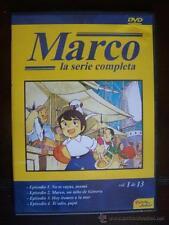 DVD MARCO LA SERIE COMPLETA VOL.1 DE 13 (PRIMEROS 4 EPISODIOS) CARATULA FINA