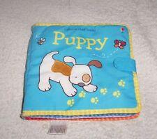 Puppy Usborne cloth book - Rare - New