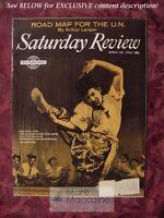 Saturday Review April 28 1962 ALEXI GOMON UKRANIAN DANCE COMPANY ARTHUR LARSON