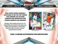 2020 Topps Finest | Break | 1 Hobby Box | 15 Seats | Team Select (Pairs)💥🔥⚾️