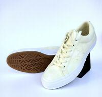 Converse Cons One Star Peached Wash OX Sneaker Damen Gelb Weiß Wildleder 159712C