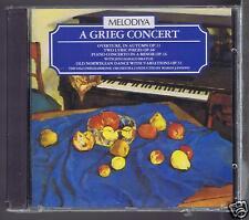 GRIEG CONCERT CD NEW OVERTURE/ 2 LYRICS PIECES/ MARISS JANSONS