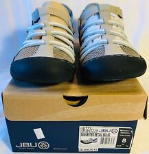 JBU by Jambu Womens Jetty Flat LIGHT GREY/STONE BLUE, JB16JTT19 Womens Size 8M