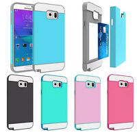 Hybrid Rugged Rubber Protective Hard Back Cover Case for Samsung Galaxy Note 5