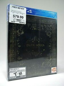 NEW Dark Souls Trilogy Steelbook Limited Edition (Sony PlayStation 4, 2018) Rare