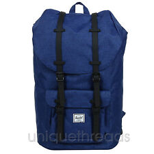 Herschel Supply Co. Little America Backpack - Eclipse Crosshatch / Black Rubber