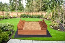Kids Sandpit wooden Sandbox Children outdoor Activity Garden Backyard Toy