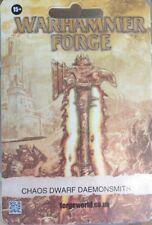 Chaos Dwarfs Daemonsmith Forge World Warhammer