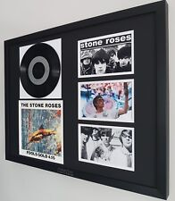 The Stone Roses Original Framed Rare Fools Gold Vinyl Ian Brown Oasis