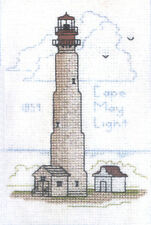 Hilite Counted Cross Stitch Kit ~ Historic Lighthouse Cape May Light, NJ #215