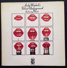 "ANDY WARHOL'S VELVET UNDERGROUND - vinyl double 33T (2 x LP 12"") /haring/banksy"