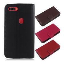 Für Archos Smartphone-Luxus Original Echt Leder Flip Case Wallet Cover Skin