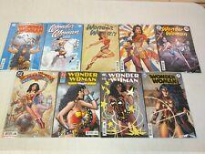 Wonder Woman #750 Decades Variant Set of 8 + Main Cover DC Comics 2020 Lot of 9