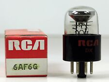 Hickok Tested NOS RCA 6AF6 G Magic Eye Twin Indicator Tube - Bright