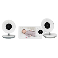 "Project Nursery Model Pnm4N12 Video Baby Monitor w/ Cameras 4.3"" Screen #V1530"