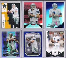 TONY ROMO COWBOYS 6 - COUNT LOT W/ 5 SERIAL #ed CARDS