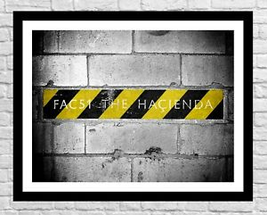 The Hacienda Music Poster Print, Manchester Wall Art, FAC 51, Factory Records