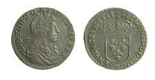 s17_2) France - Luigi XIV (1643-1715) 1/12 Ecu 1661 R