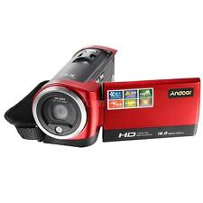 "Andoer FULL HD 16MP 2.7"" TFT LCD 16X ZOOM Digital Video Camera DV Camcorder O4I6"