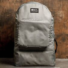 BAIT Lightweight Packable And Detachable Sneaker Nylon Backpack silver