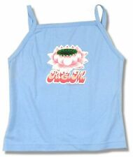 REM R.E.M. Lotus Image Girls Juniors Blue Camisole Shirt New Licensed