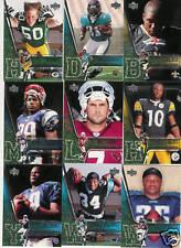 2006 UPPER DECK NFL PLAYERS ROOKIE PREMIER SET 1-30