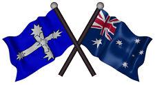 AUSTRALIA EUREKA FLAGS VINYL DECAL  80MM BY 42 MM apr.