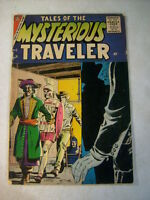 TALES OF THE MYSTERIOUS TRAVELER #2 STEVE DITKO, 1957, SENTINEL, CRUEL DREAM