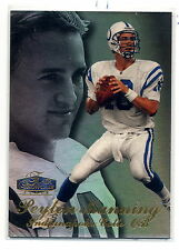98 Flair PEYTON MANNING SHOWTIME RC ROW 3 COLTS BRONCOS TENNESSEE