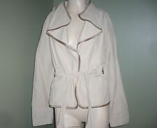 Cole Haan Collection Spectacular Safari coat jacket size Large