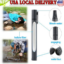 3 Stage Water Pen Oral Hygiene Cycling System Straw Purifier Hydration Filter WF