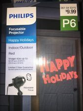 "Philips Projector ""Happy Holidays"" LED Indoor Outdoor Christmas Light NEW in box"