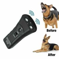 Ultrasonic Dog Training Repeller Control Trainer Device 3 in 1 Anti-barking Stop
