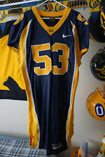 CALIFORNIA GOLDEN BEARS GAME WORN NU'U TAFISI 2005-06 #53 HOME BLUE JERSEY!