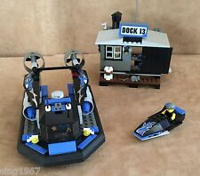 7045 LEGO Complete World City Police and Rescue Hovercraft Hideout