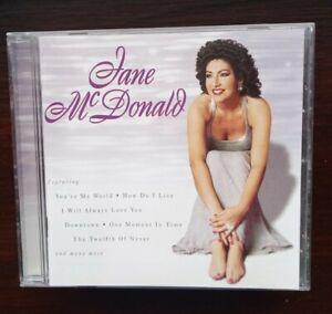 Jane McDonald: Same Self Titled No.1 Debut CD Jayne Macdonald Cruise TV 1998 NEW
