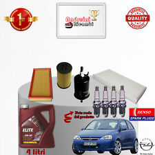 Replacement Filter Kit Oil Spark Plugs Opel Corsa C 1.2 I 16V