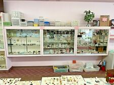 Lot Of 3 Retail Store Glass Lighted Showcase Display Cases Pickup Only