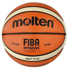 NEW 100% AUTHENTIC Molten GF7X Official FIBA Approved Indoor Basketball Size 7