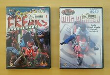 "D-Aces ""Not Guilty"" & ""SportsBike Freaks"" 2 DVD's! Cycle Street Amazing Stunts!"