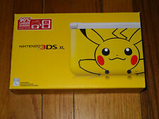Pokemon Pikachu Nintendo 3DS XL Limited Edition Bundle Brand New Factory Sealed
