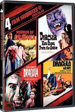 4 FILM FAVORITES DRACULA DVD New Christopher Lee Hammer