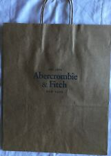 LARGE ABERCROMBIE & FITCH CARRIER GIFT BAG