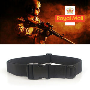 Quick Release Buckle Military Trouser Waist BELT Army Tactical Canvas Webbing UK