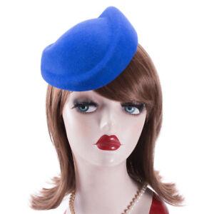 Womens 100% Wool Felt Hat Body Base Pillbox Fascinator Millinery DIY Craft A129