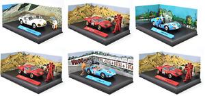 Lot de 6 voitures BD MICHEL VAILLANT 1/43 - ALTAYA miniature Diecast Car L02