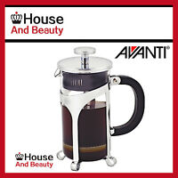 NEW Avanti Cafe Press Glass Coffee Plunger 1 Ltr / 8 Cup! (RRP $56)