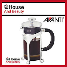 NEW Avanti Cafe Press Glass Coffee Plunger 1 Ltr / 8 Cup Code: 15520! RRP $56